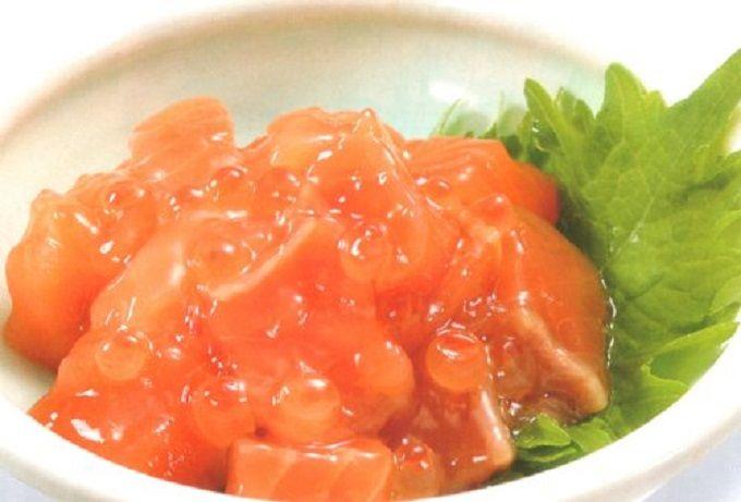 人気ナンバーワン「鮭ルイベ漬」