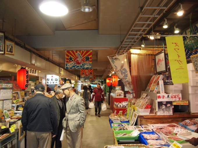 銚子のグルメが勢ぞろい!!銚子漁港の目の前「ウオッセ21」が一押し!!