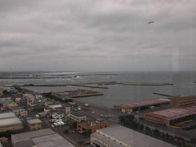 360度のパノラマが広がる「銚子ポートタワー」