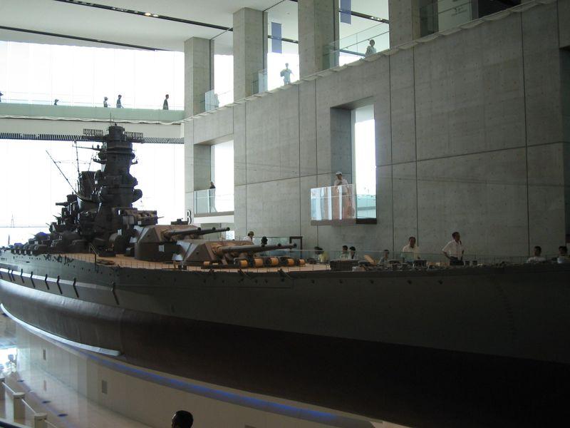 「戦艦大和」が10分の1サイズで再現!!大和ミュージアムで学ぶ大切なこと〜広島県呉市
