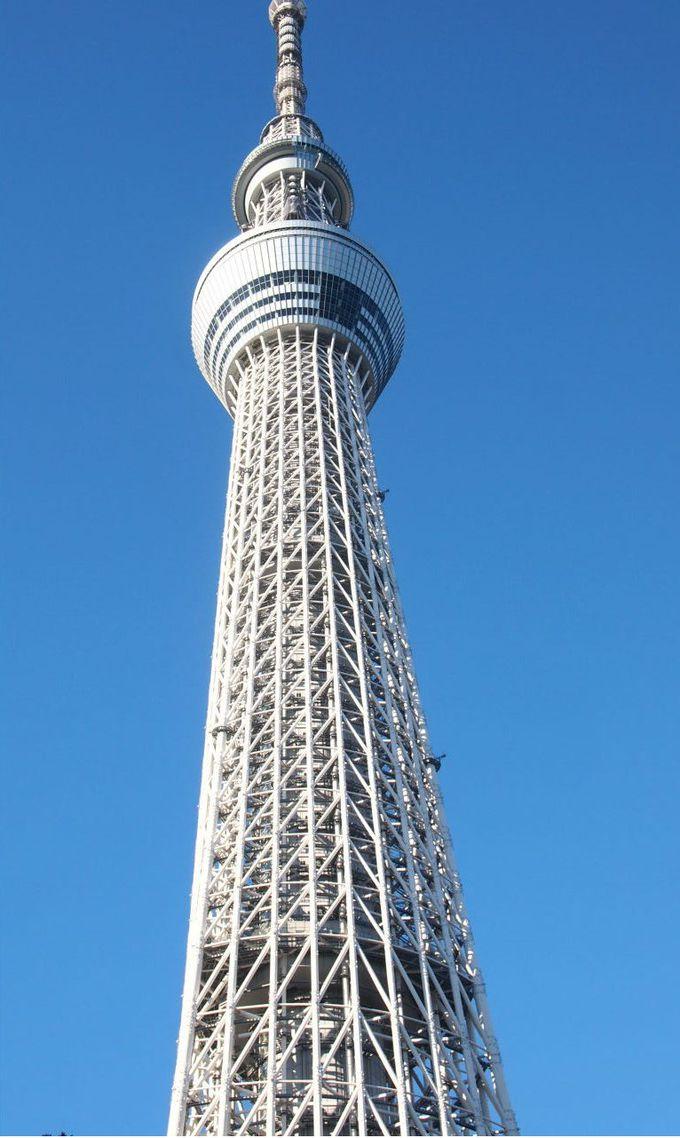 ちょっと足を延ばして行っておきたい「東京スカイツリー」