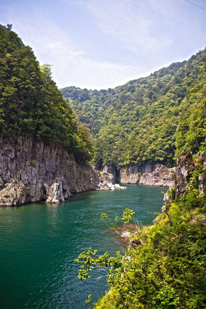 瀞峡の巨岩や奇岩は最大の見どころ!
