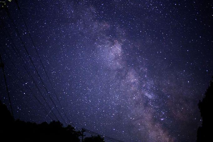 夜空を見上げれば天の川にだって出会えます!