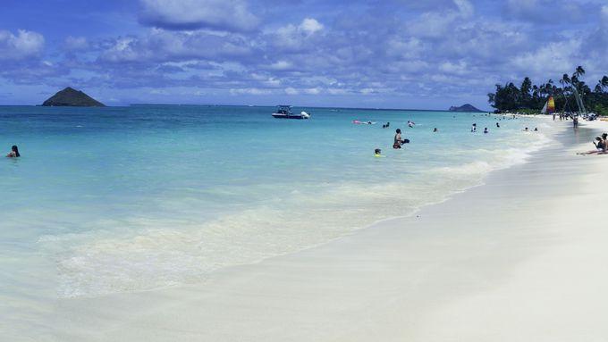 全米で最も美しいと評価されたビーチ「ラニカイビーチ」