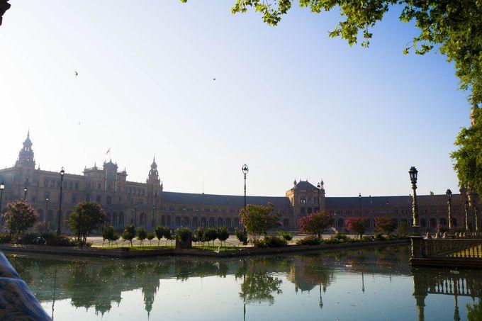 万国博覧会に際して作られた「スペイン広場」