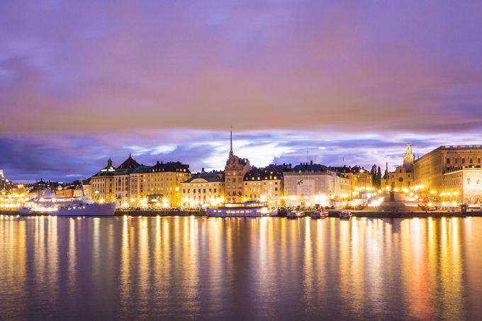 憧れの北欧、スウェーデン最大の都市ストックホルム