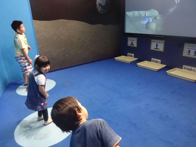 宇宙冒険のリアルな感覚! バーチャル&シミュレータ展示