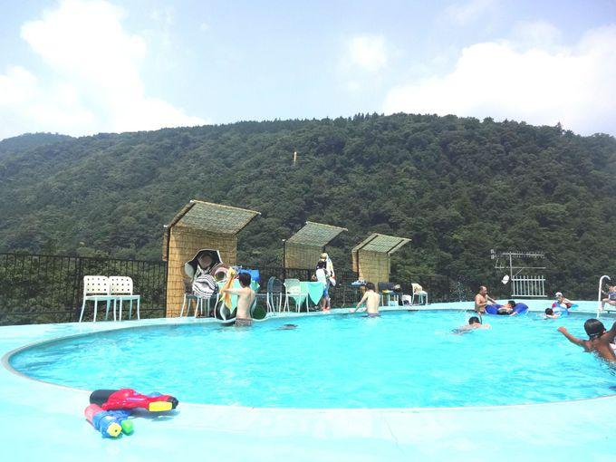 夏季は子連れ家族に嬉しい「屋上プール」と縁日イベント!
