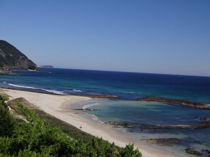 白浜中央海水浴場(下田)