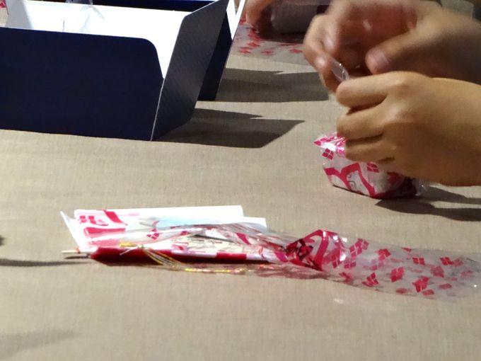 包装体験で「桔梗信玄餅」が40%OFFに!?