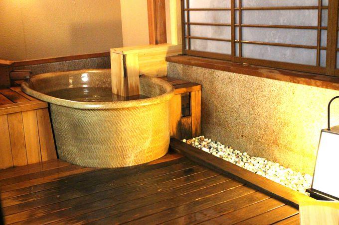 貸切風呂が無料!