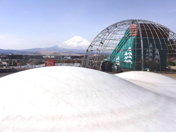 富士山をバッグにビッグジャンプ!
