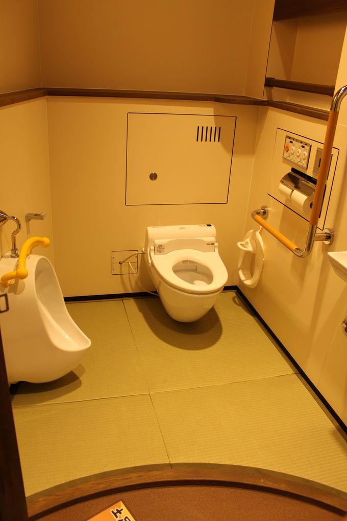 子ども用トイレも凄い