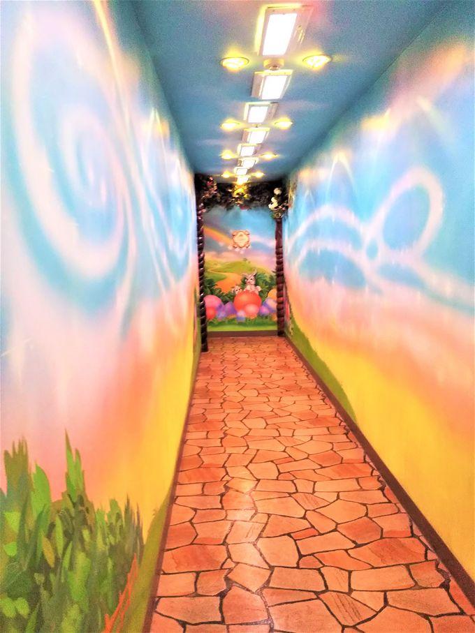 「メルヘンの森」テイストのトイレも!