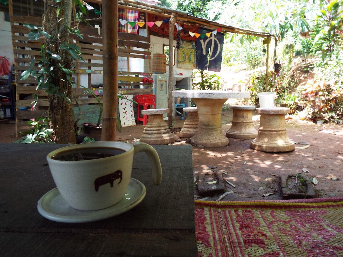 喫茶スペースでゆっくりと贅沢な時間を楽しむ!