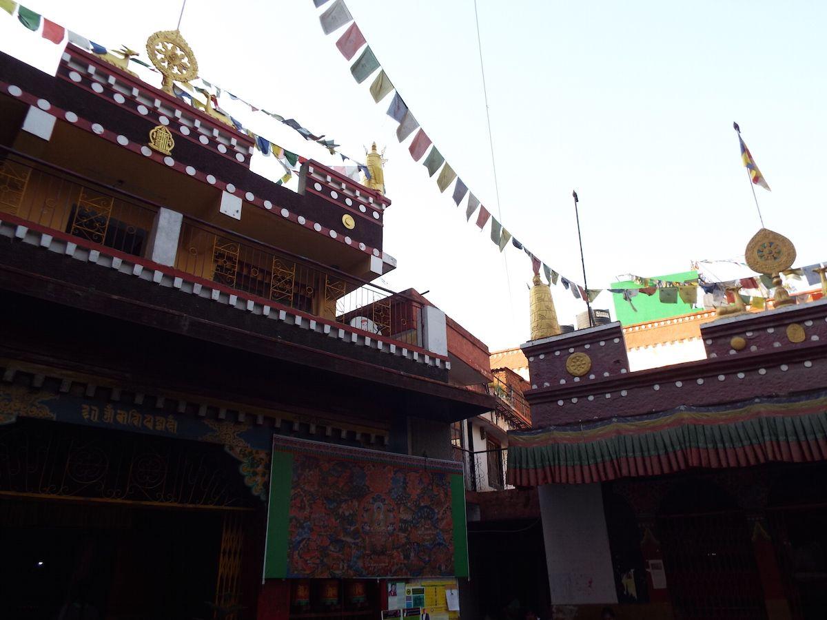心の拠り所、チベット仏教の寺院