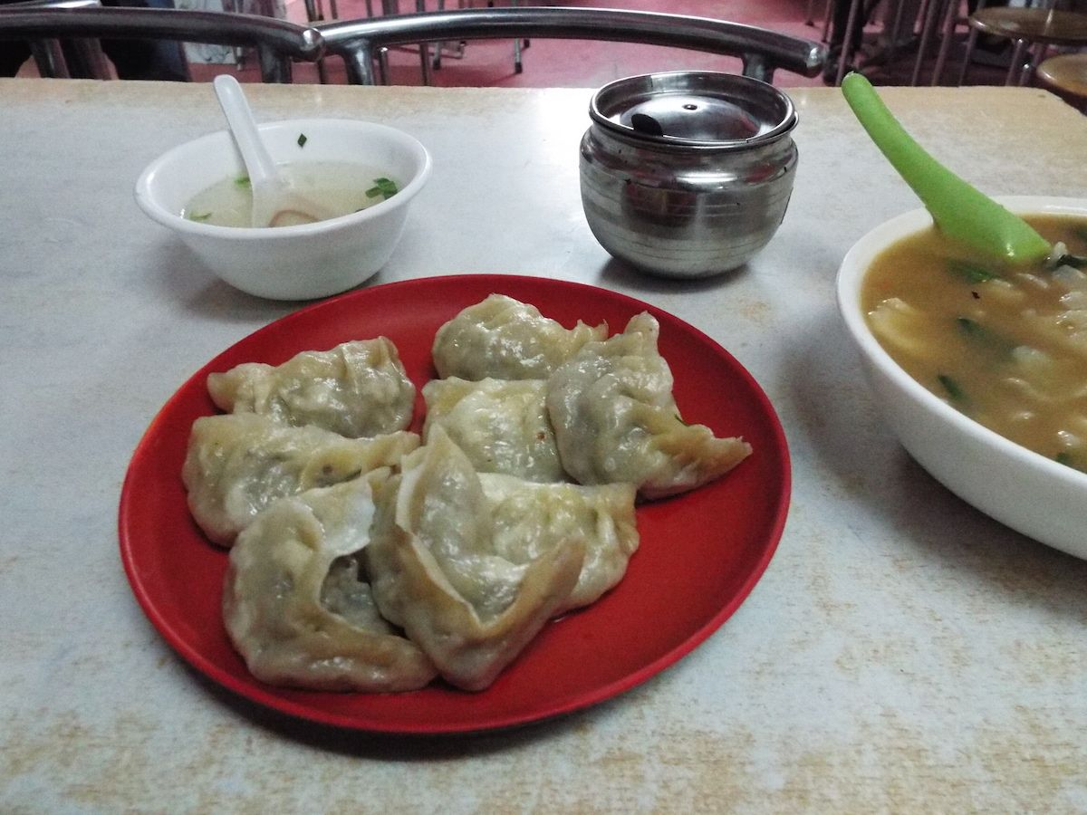 本格的なチベット料理も食べられる