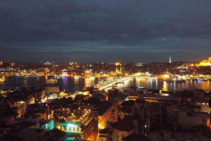 イスタンブールを360度パノラマで楽しむ!