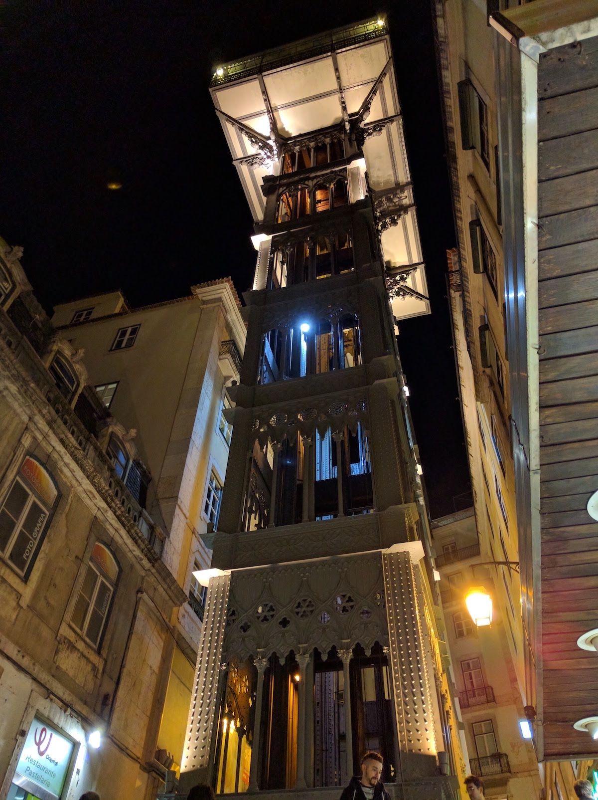 リスボンの観光名所「サンタ・ジュスタのエレベーター」とは?