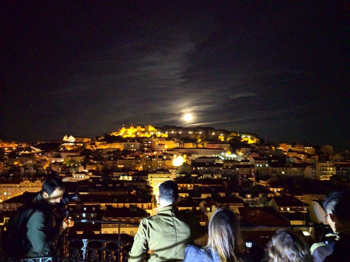 リスボンの素晴らしい景色が楽しめる!