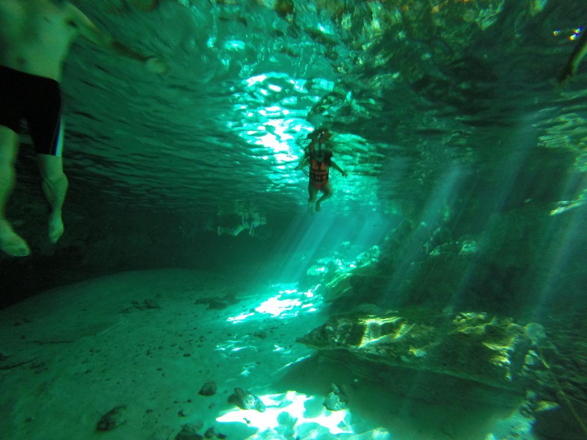 ここまできたら、水のなかに潜ってみよう!