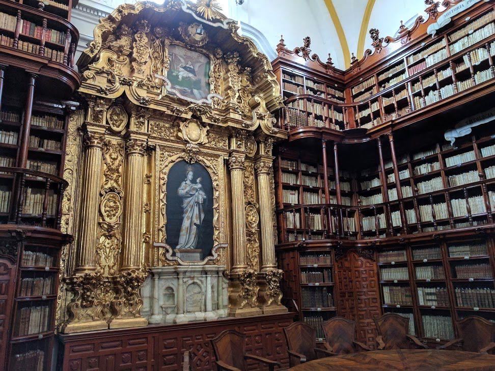 4、アメリカ大陸初の図書館「パラフォシアナ図書館」