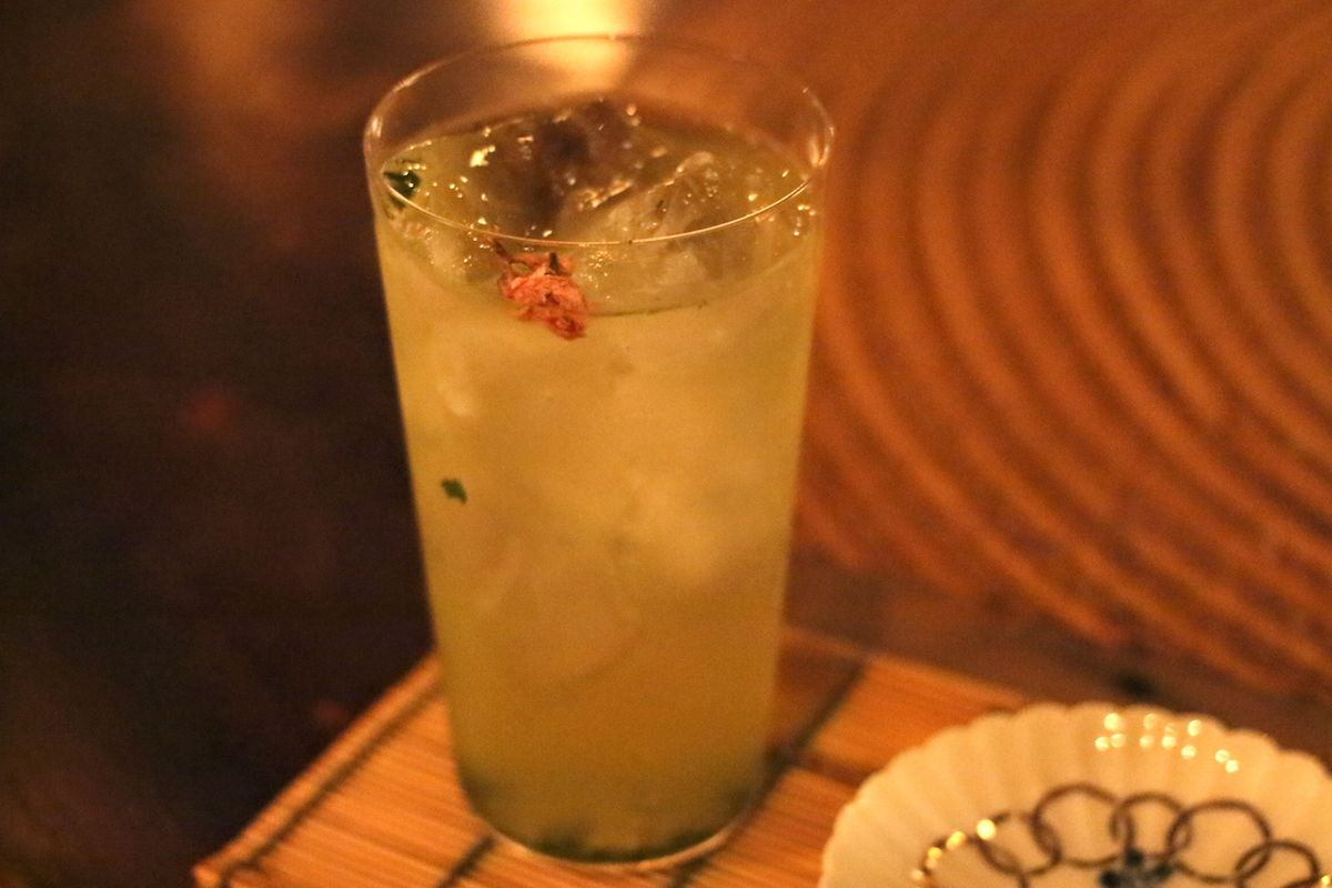 葉っぱまで食べられる美味しい日本茶