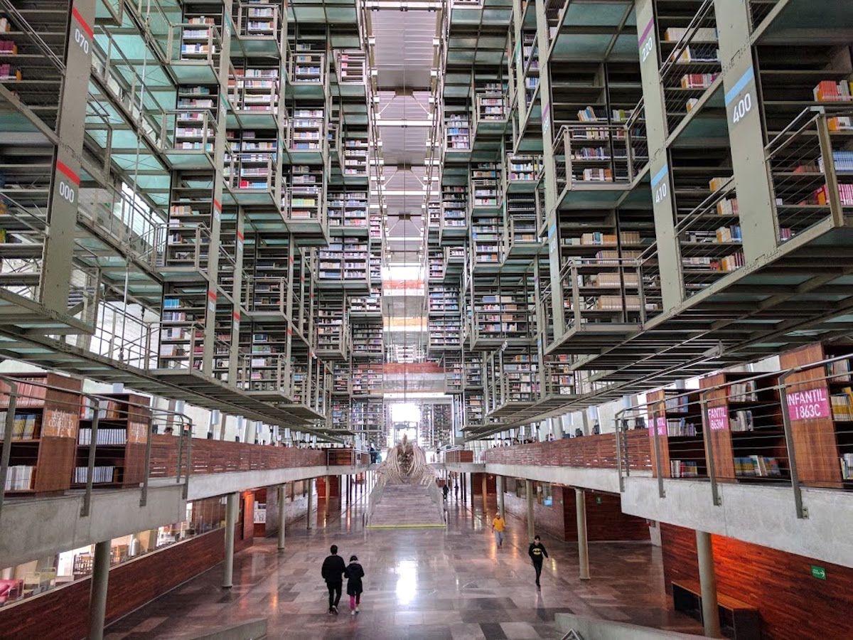 3.ヴァスコンセロス図書館
