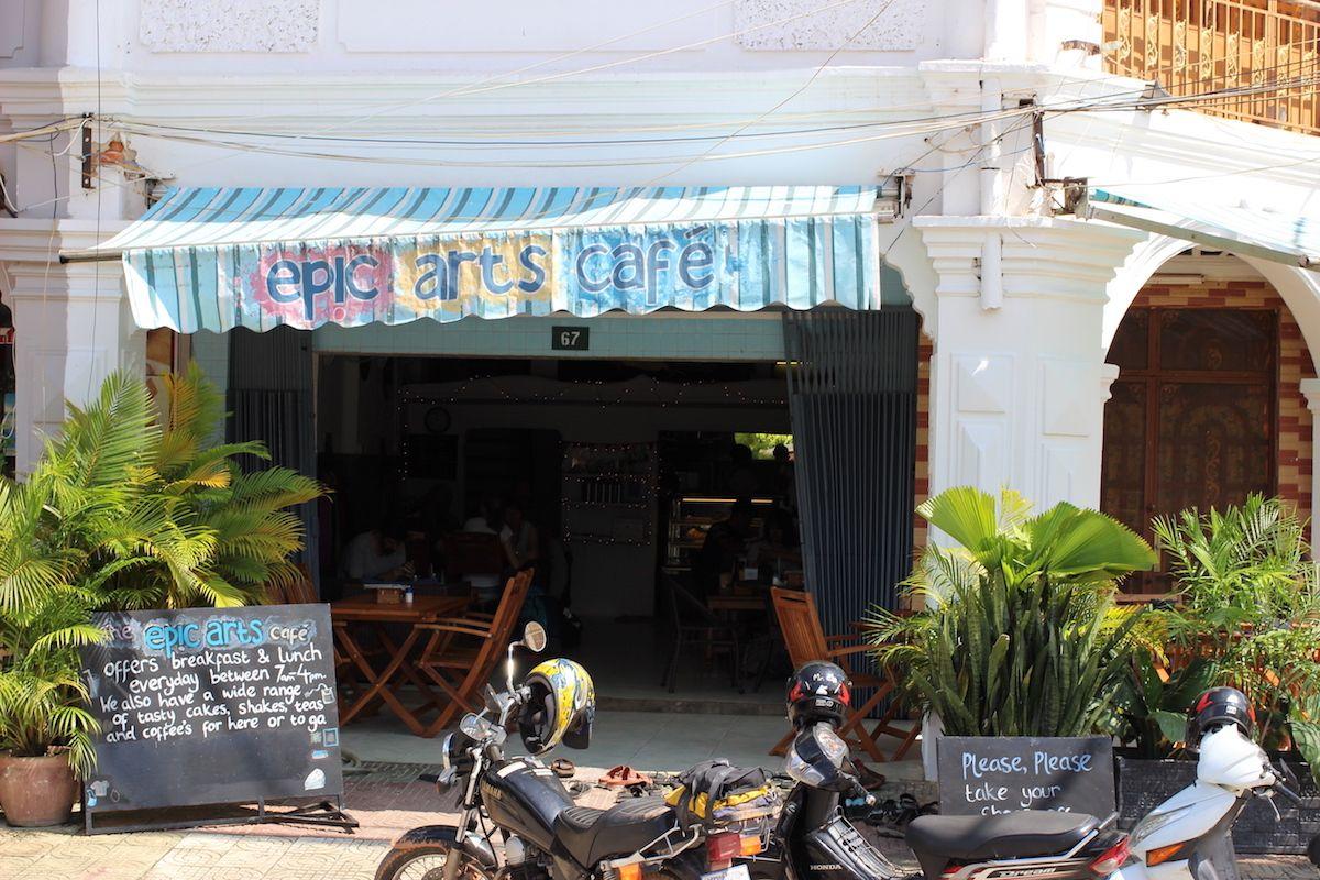 1、芸術系団体が運営している「Epic Arts Cafe」