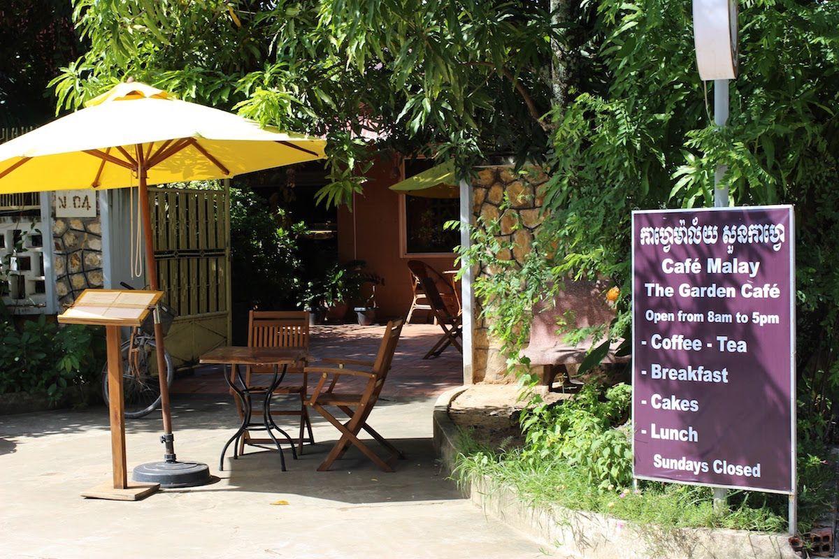 4、アットホームな隠れ家的カフェ「The Garden Cafe」