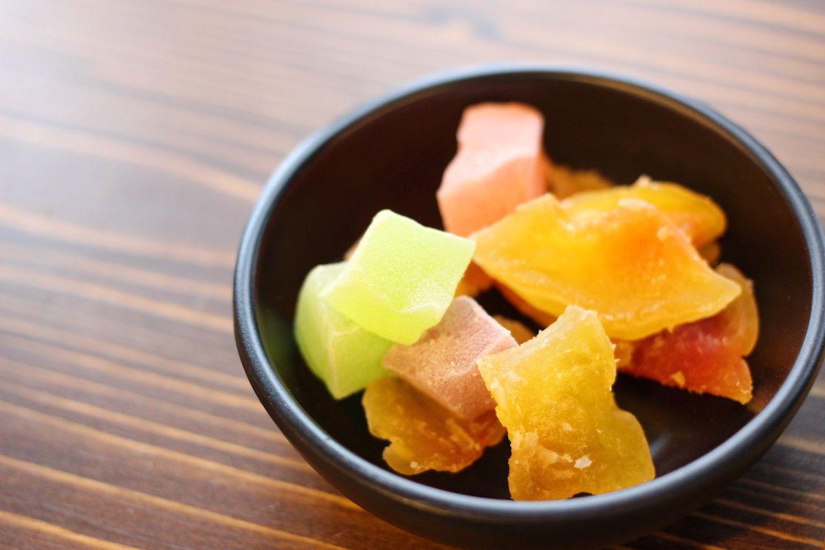 フルーツやアイス、蒸し饅頭まで楽しめる