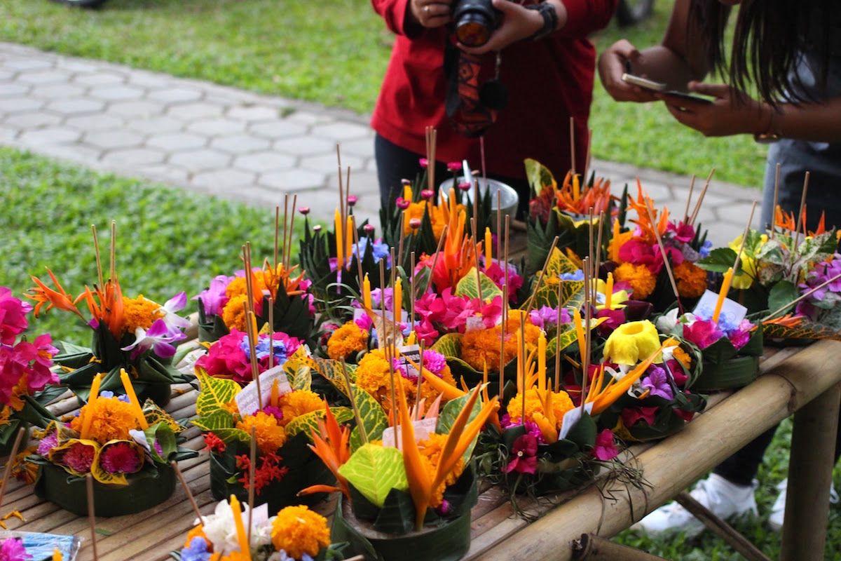 タイの伝統的な文化のワークショップも開催