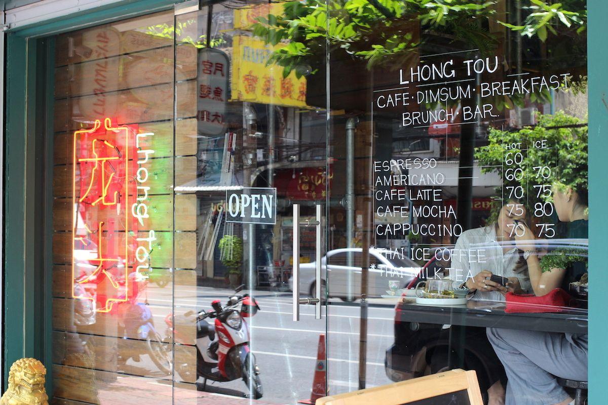 バンコクの中華街にあるカジュアルなおしゃれカフェ