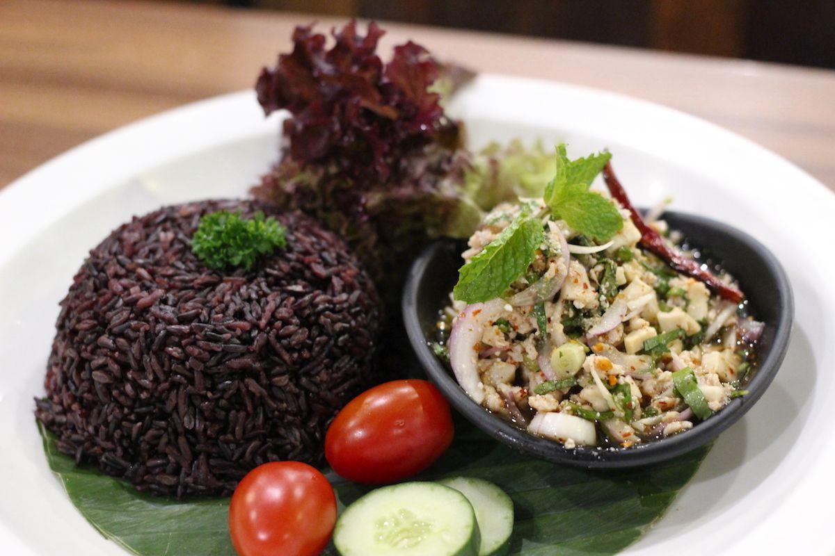 タイ北部の名物料理もしっかり楽しめる