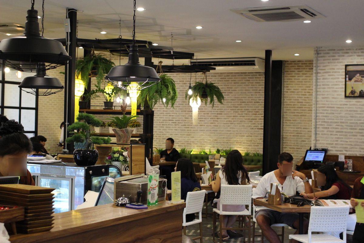 「チェンマイの代官山」にある人気店