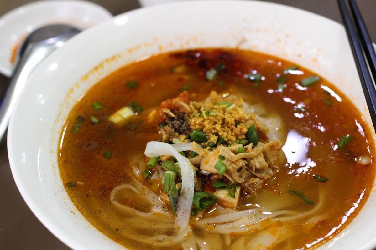 2. シャン族の代表的な麺料理「シャンカオスエ」