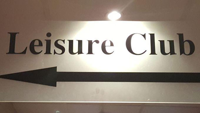 ホテル内にはフィットネスクラブも