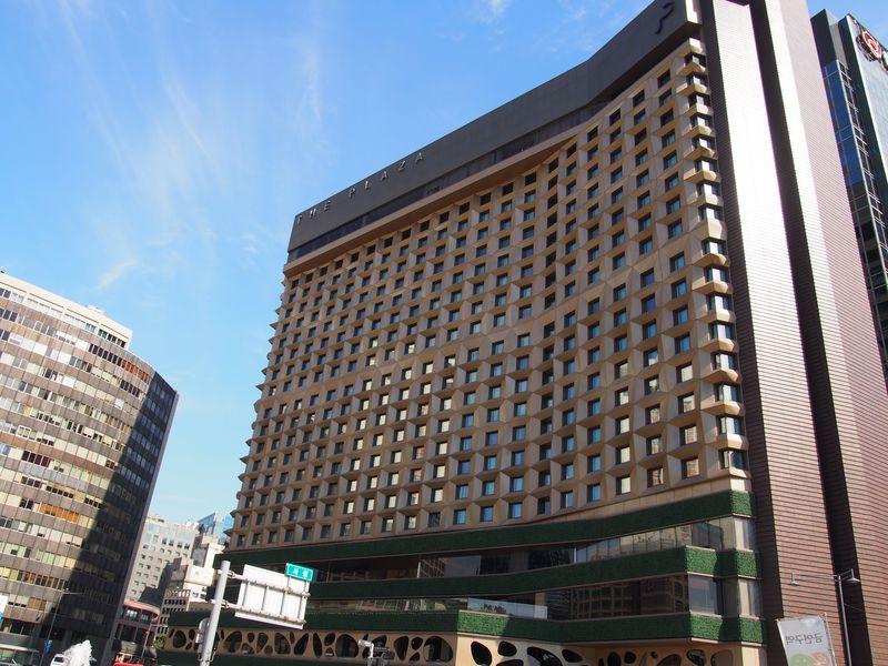 明洞へ地下街で1本!ソウル広場の目の前!ザ プラザホテル
