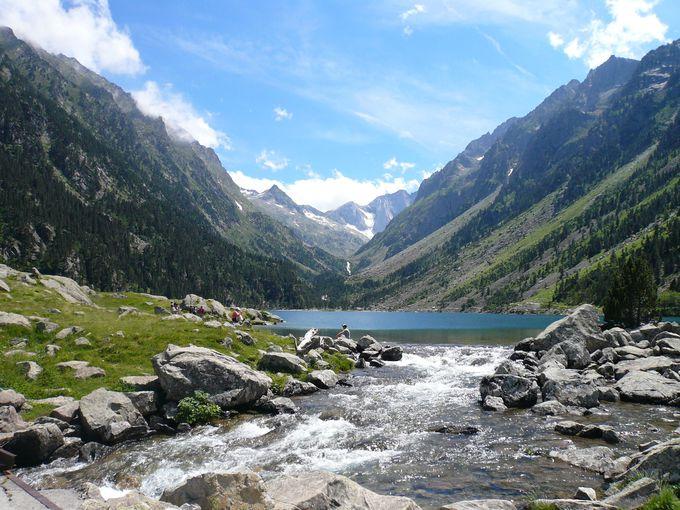 フランス最古の国立公園で絶景に抱かれる