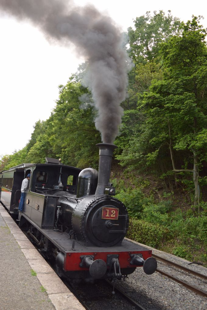 5.「博物館明治村」蒸気機関車も
