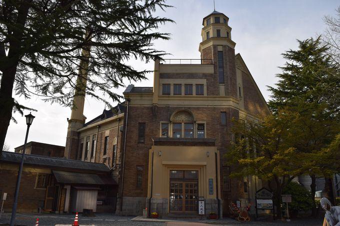 上諏訪のテルメ(温泉)、片倉館は重要文化財のひとつ