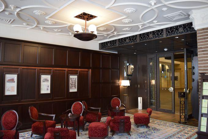 カフェがあるのは「生きた建築ミュージアム」のひとつとしても知られるダイビル本館