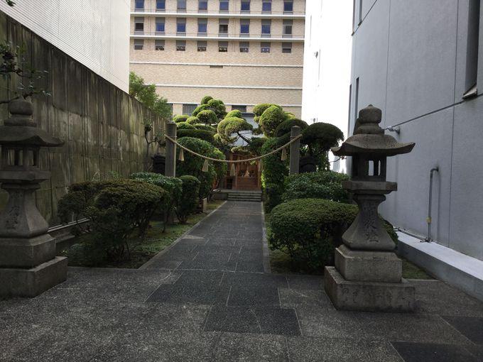 発展を願って奉祀した「商工稲荷神社」の現在