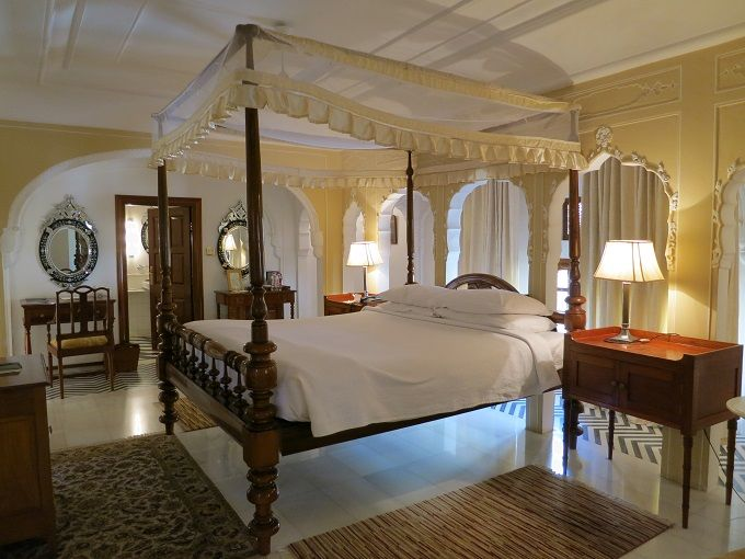 マハラジャ気分が味わえる優雅な客室