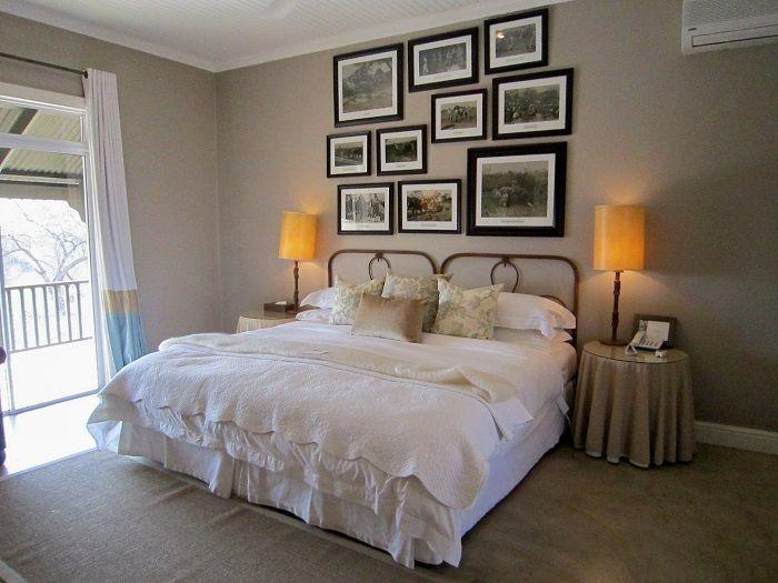 エレガントで美しい客室