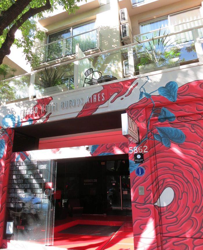 パレルモ・ハリウッドにある隠れ家的プチホテル「フィエロホテル」