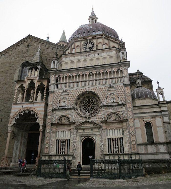 ロンバルディア・ルネッサンスの一大傑作「コッレオーニ礼拝堂」