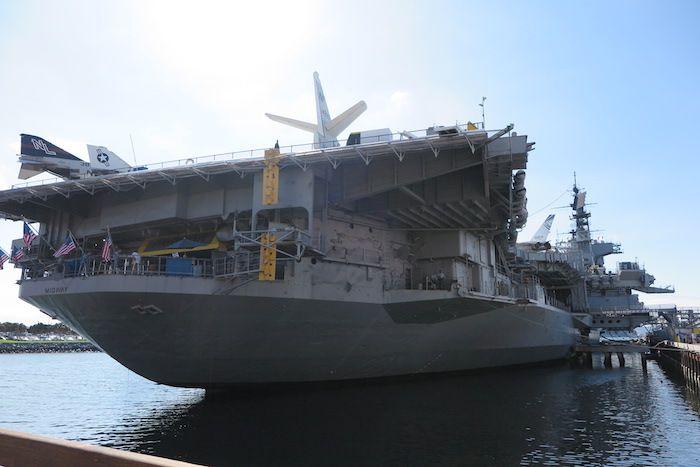 米軍基地の町サンディエゴで「ミッドウェイ博物館」を訪れよう!