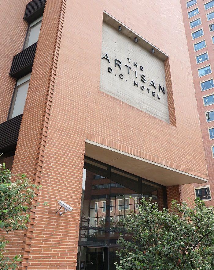 治安の良い「ゾーンG」にあるブティックホテル「ザ・アルティサンDCホテル」