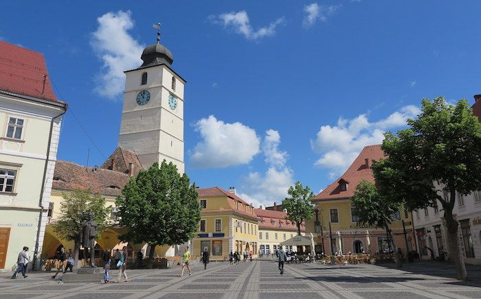 ルーマニアの古都「シビウ」はトランシルバニア地方屈指の可愛い町